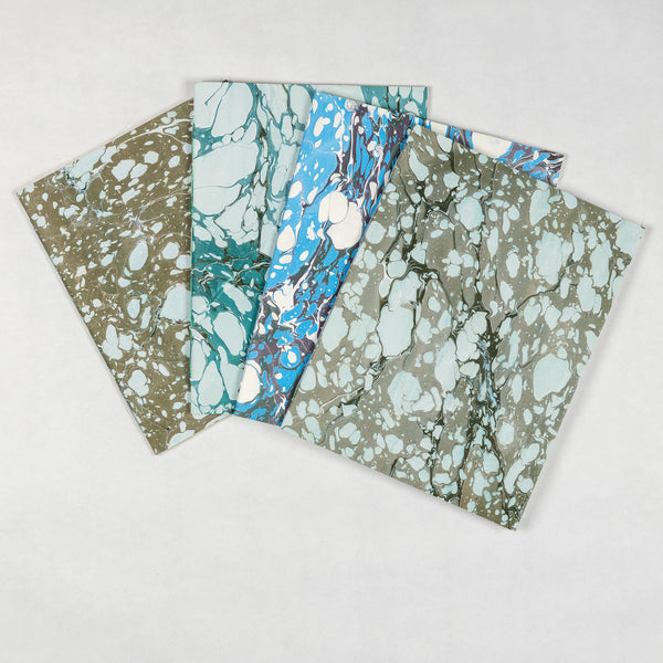 Large Marbled Notebook