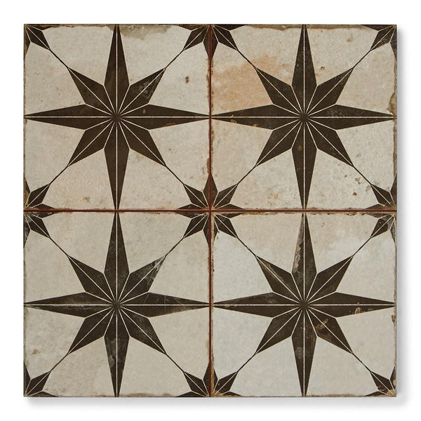 What are encaustic tiles
