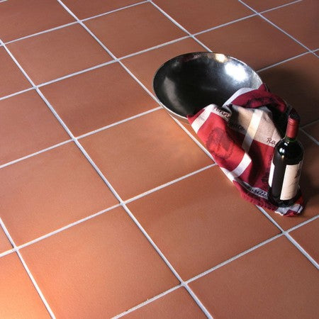 Traditional Red Quarry Floor Tiles