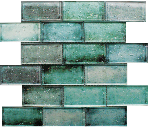 green-mosaic-wall-tiles