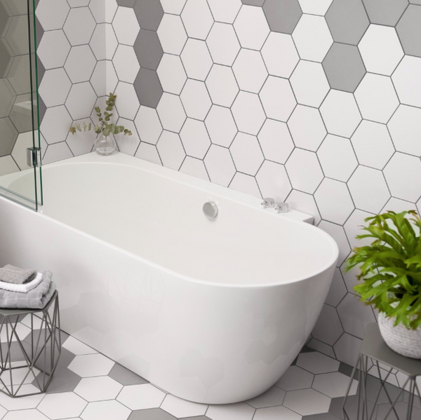 hexagon-white-bathroom-tiles