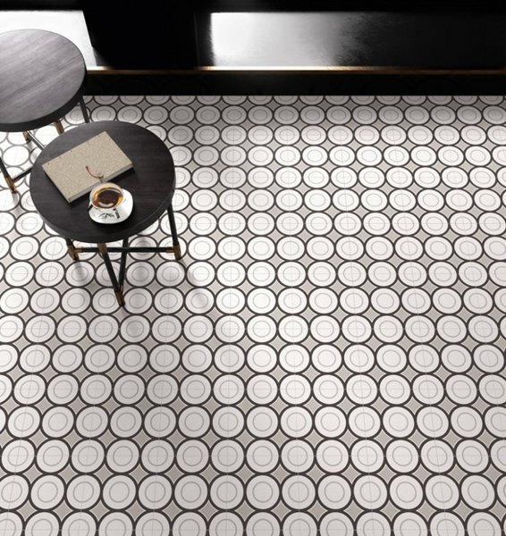Encaustic Effect Tiles For Walls And Floors