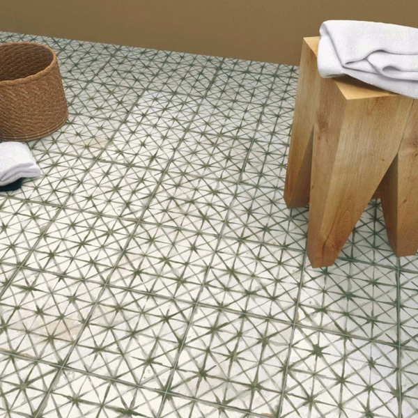 Patterned-bathroom-tiles