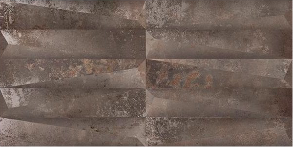 3D Concrete Effect Copper Urban Decor Tiles
