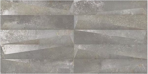 3D Concrete Effect Grey Urban Decor Tiles