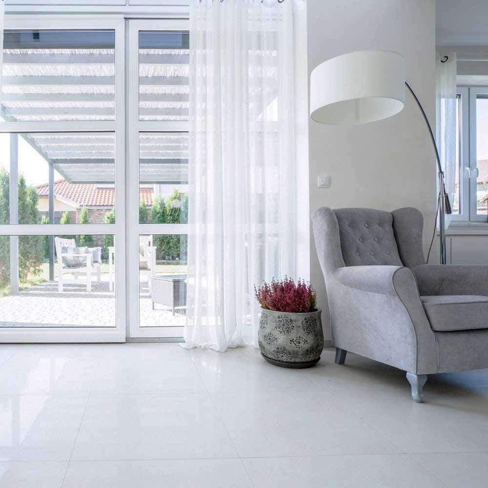 Antarctic 60 x 30 White Matt Floor tile