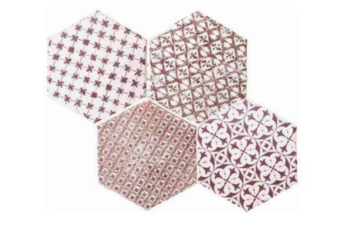 Applebys-Tiles-Red-Encaustic-Hexagon-Tile