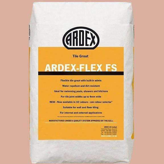 Ardex Oyster Pink Tile Grout 2.5kg - Appleby's Tiles