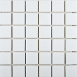 Autograph Gloss White Square Mosaic Tiles