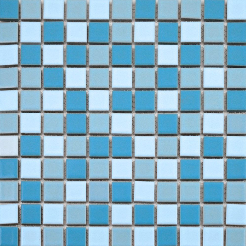 Autograph-matt-pool-blue-blend-square-mini-mosaic-tiles
