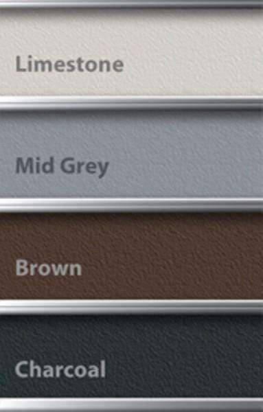 Charcoal Grout Colour Options
