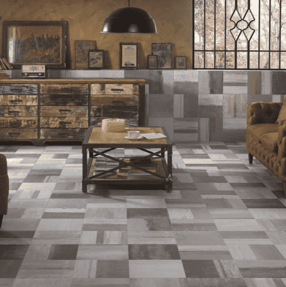 Castelle-Mixed-Concrete Effect-Floor-Tiles