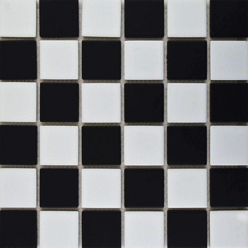 Chequered Matt Mosaic Tiles