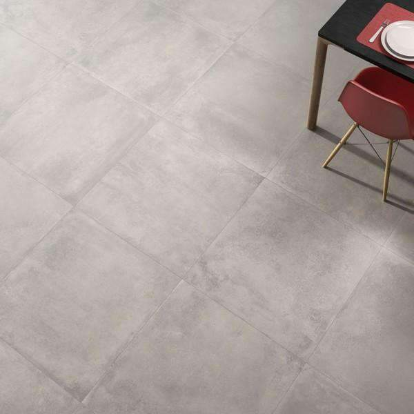Urbanis Matt Grey Concrete Effect Porcelain Floor Tile 75cm x 75cm