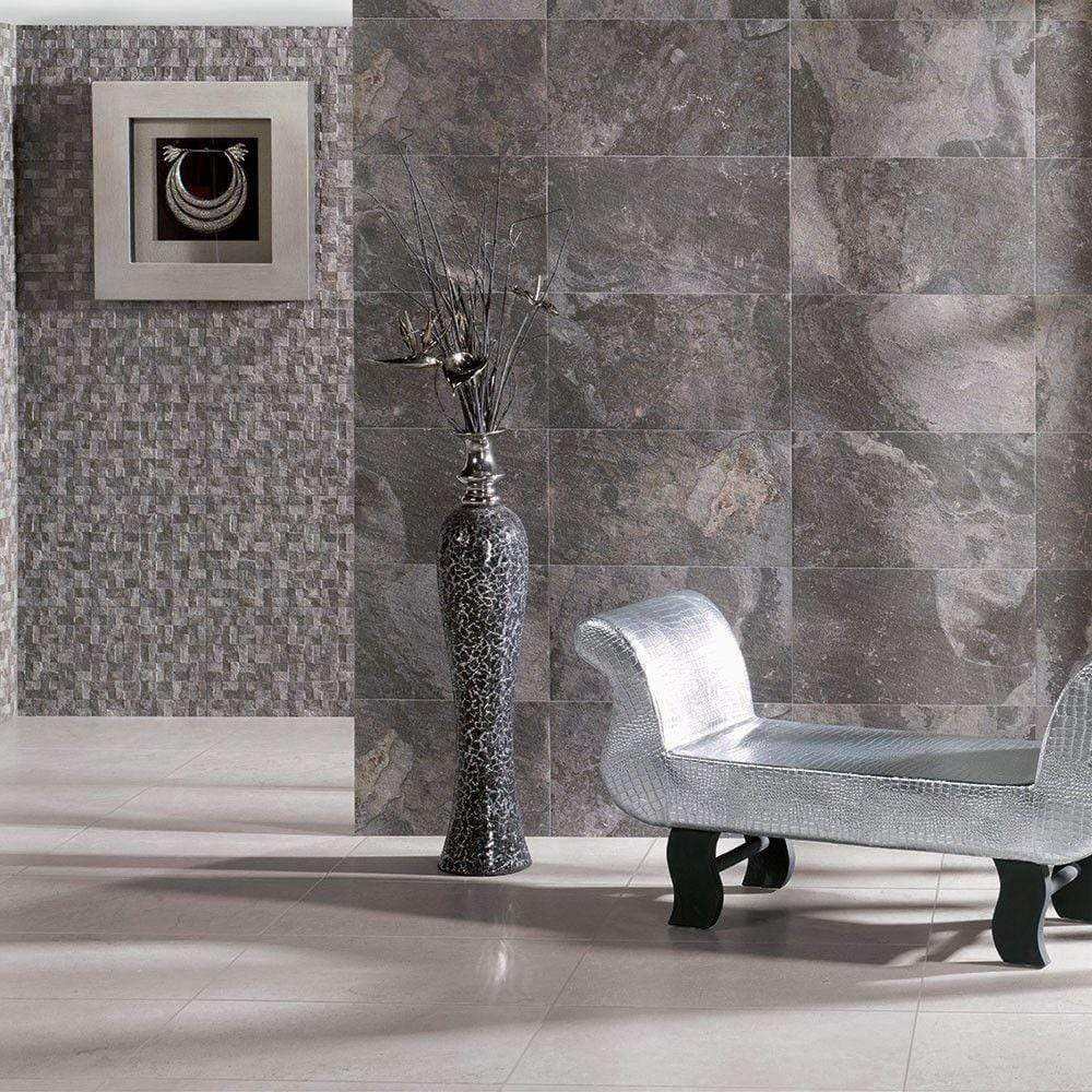 Antracita Slate Effect Floor & Wall Tiles
