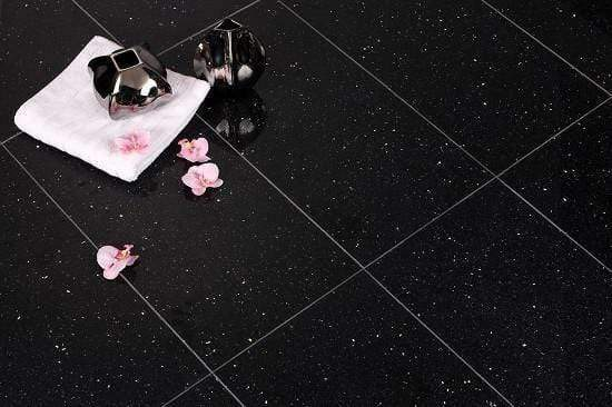 Diamond Fleck Quartz Floor Tiles