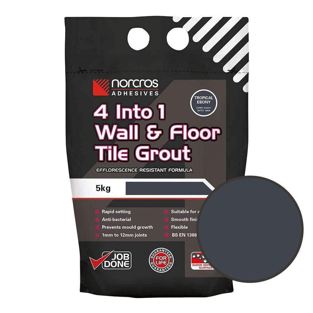 Ebony Water Resistant Grout 5Kg
