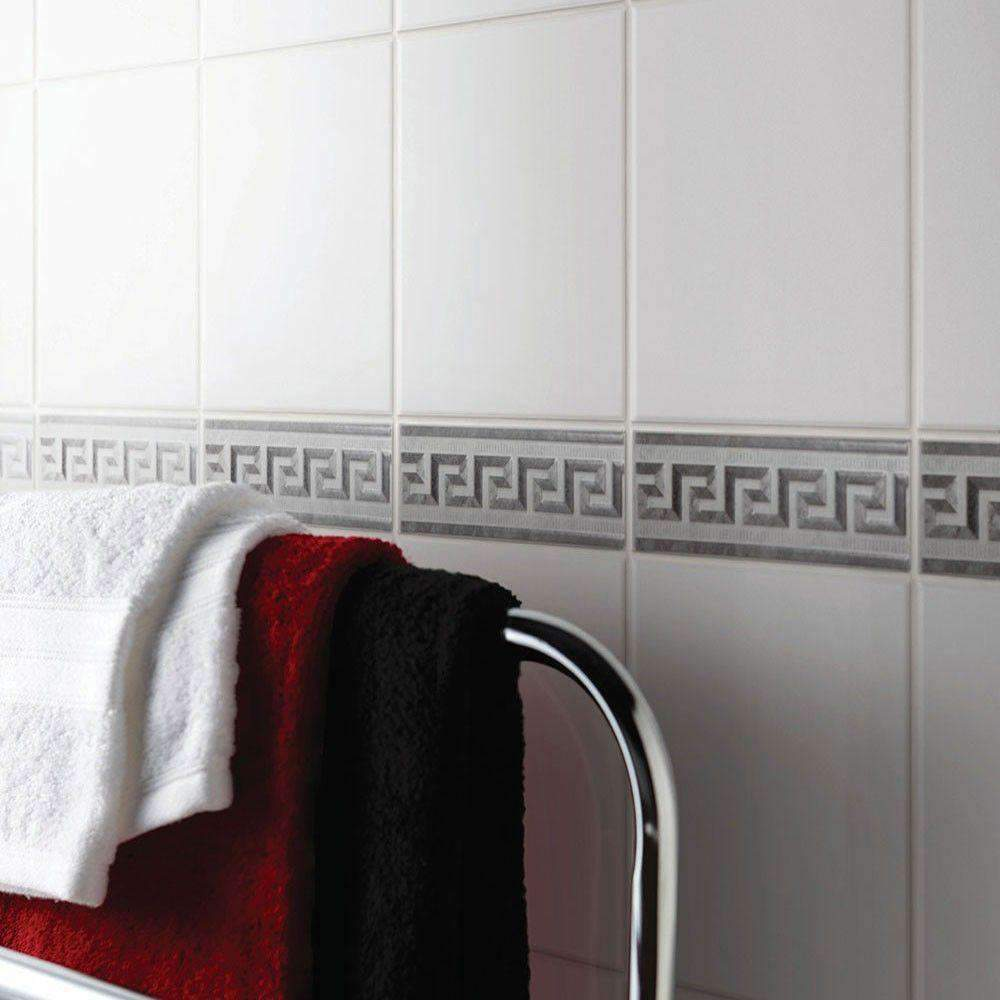 Flat White Wall Tile