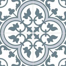 Floral-Blue-Encaustic-Tile