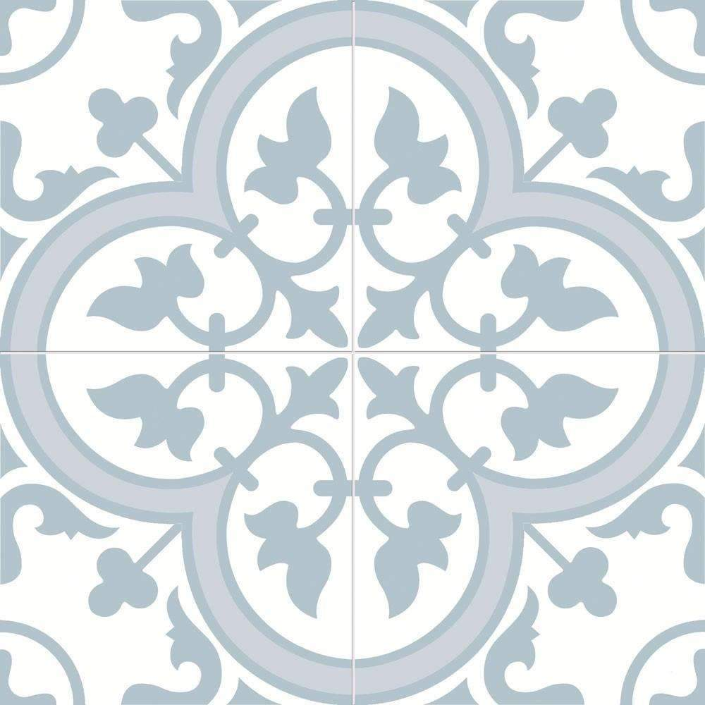 Floral-Hazed-Blue-Encaustic-Tile