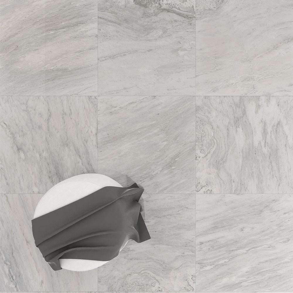 Frosted Matt Marble Effect Floor Tiles