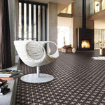 Dark Geometric Encaustic Wall & Floor Tile - Appleby's Tiles