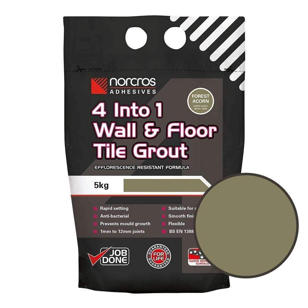 Green Water Resistant Grout 5Kg