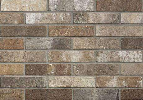 Knightsbridge Clay Brick Effect Wall Tile 25cm x 6cm