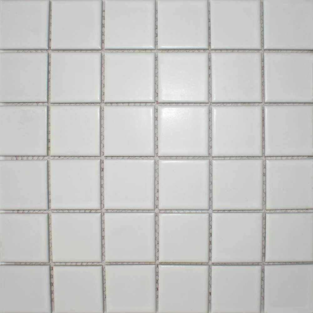 Matt White Mosaic Tiles
