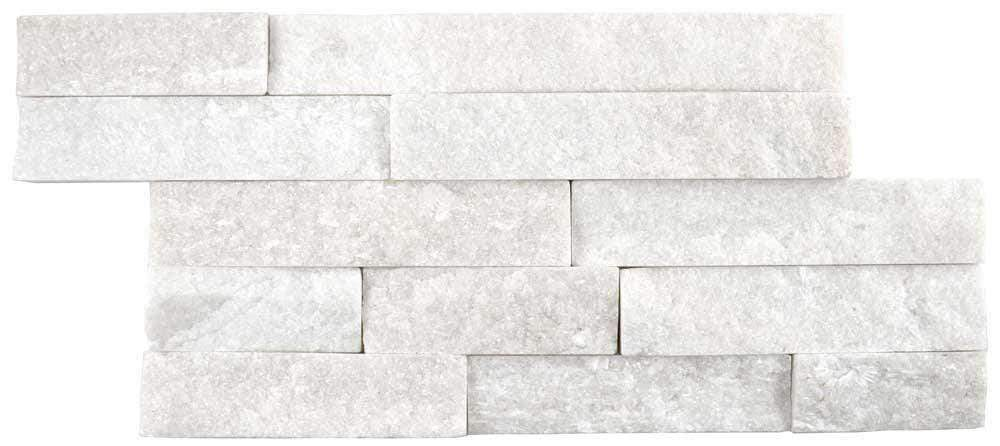 Moon Dust Quartz Splitface Mosaic Tile