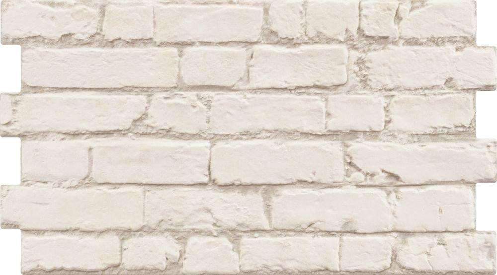 New York White Brick Effect Wall Tile