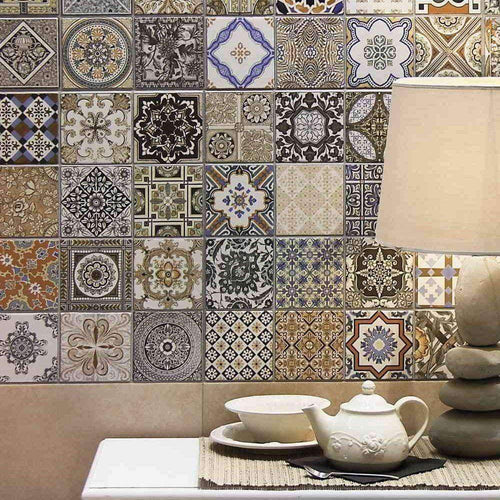 Patchwork Encaustic Wall & Floor Tile - Appleby's Tiles