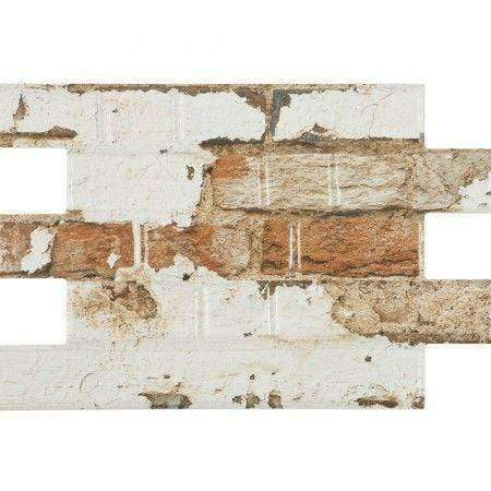 Reclaimed Rustic Brick Effect Tile