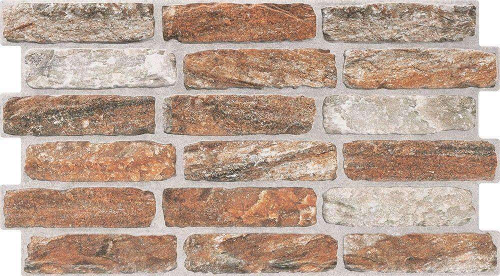 Mini Red Brick Effect Wall Tile