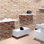 Brick Effect Feature Wall Tile