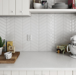 Picket White Gloss Tiles
