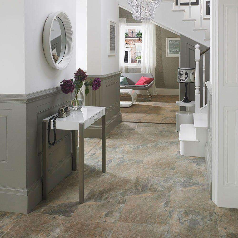 Slate Mixed Colour Effect Floor & Wall Tiles