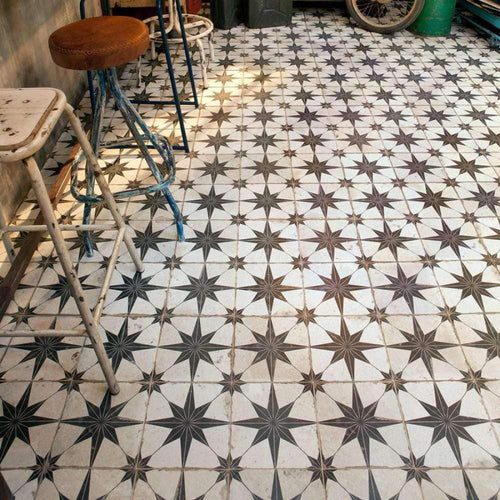 Octagram Heritage Encaustic Wall & Floor Tile - Appleby's Tiles