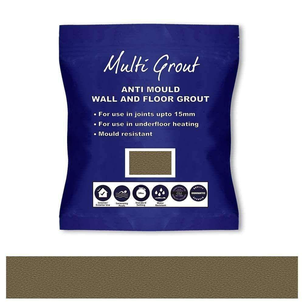 Stone Grey Water Resistant Grout 5Kg