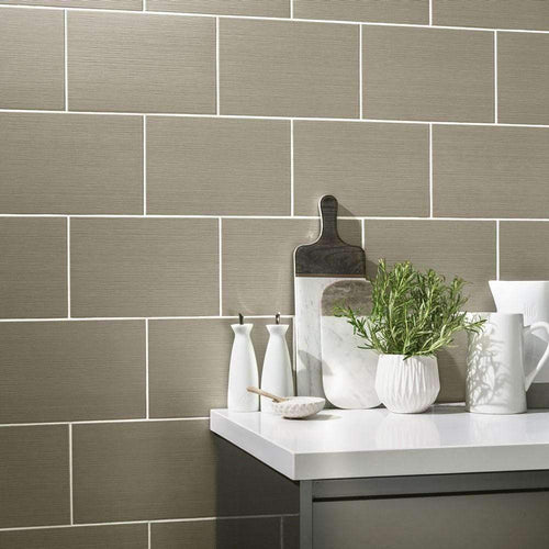 Taupe-Cotton-Thread-Wall-Tiles