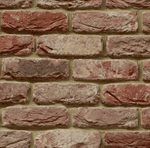 Tumbled Barn House Brick Slips