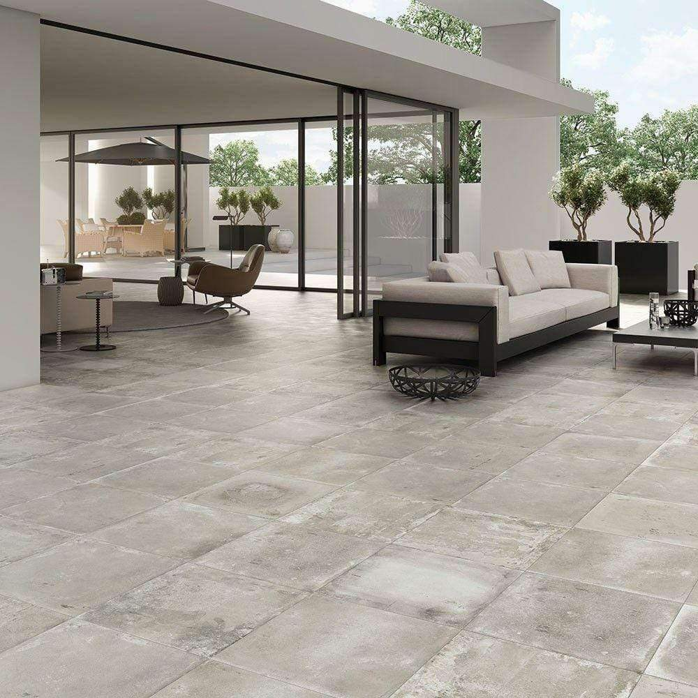 Urban Smoked Concrete Effect Tiles
