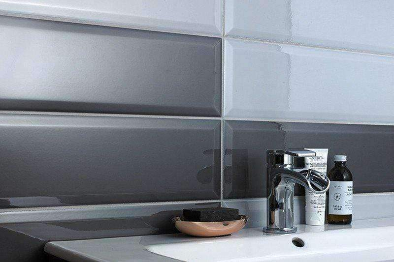 Victoria and Albert Designer Grey Metro Wall Tiles - Appleby's Tiles