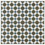 Diamond Pattern Green Floor Tile