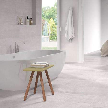 Wicklow Ash Concrete Effect Square Tiles