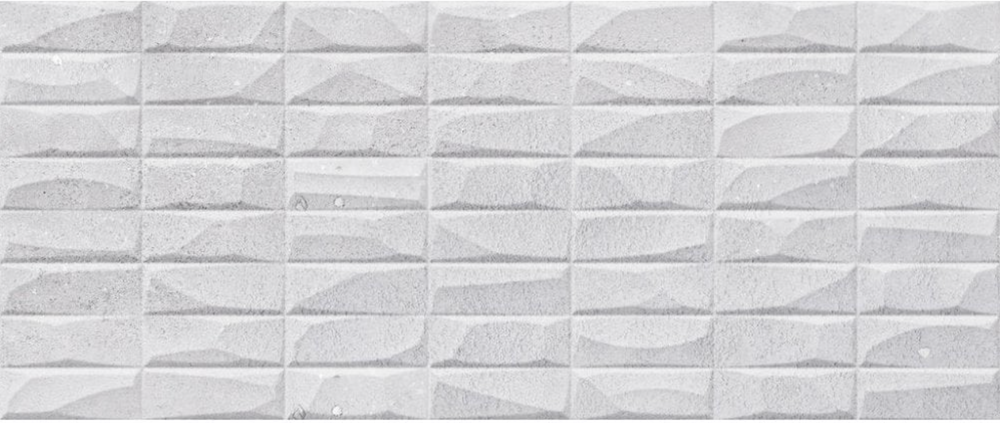 Abstract 3D Textured White Wall Tiles