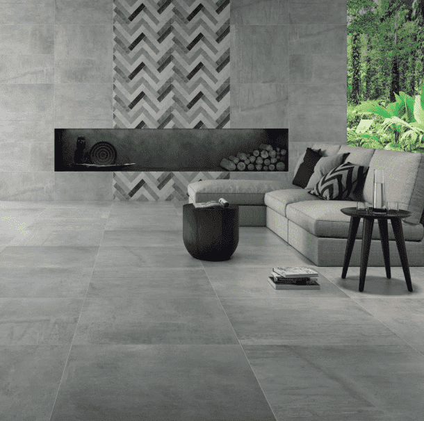 Aero Grey Concrete Effect Tile