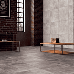 Aero Rustic Grey Concrete Effect Tile