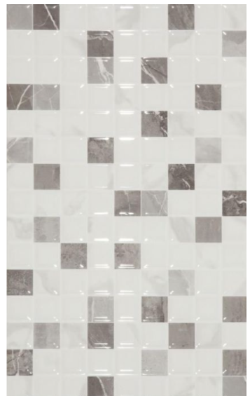 Amalfi Marble Effect Mosaic Panel Wall Tiles