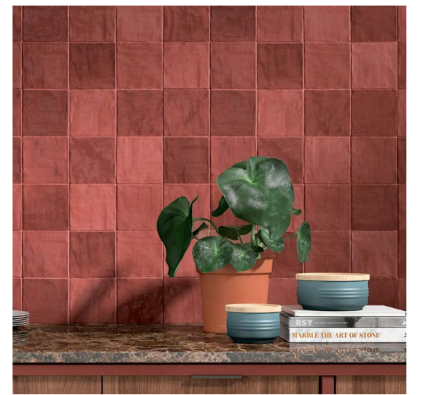 Artell Red Wall Tiles